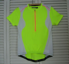 Woman's NISHIKI Cycling Jersey Short Sleeve Half Zip Size Medium