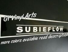 Subaru Subieflow Windshield Decals Banners Cars Sticker Sun Visor Strip WRX STI