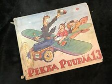 Finnish Pekka Puupää 13 Comic Book 1955