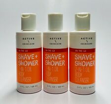 New listing 3 Bath & Body Works Active Skincare Shave Shower 2-in-1 Oil Body Cleanser (3 oz)