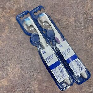 2 Count Oral-B Gum Care Compact Toothbrush Extra Soft 1 Gray 1 Pink