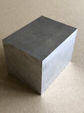 ALUMINIUM BAR / BILLET / BLOCK - 80mm x 60mm x 60mm - GRADE 6082 T6