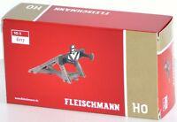 Fleischmann H0 6117-S Prellbock mit Gleissperr-Signal (10 Stück) - NEU + OVP