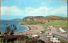 1970 Chrome Postcard: Mobile Home Park - Oban, Argyll, Scotland