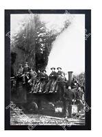 HISTORIC THOMAS LAKE LOGGING Co. SNOHOMISH, WASHINGTON TRAIN POSTCARD #2