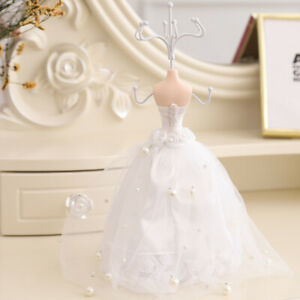 Jewelry Holder Necklace Earring Display Stand Mannequin Dress Display Rack