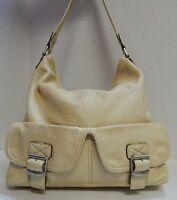Michael Kors Yellow Pebbled Leather Slouch Hobo Shoulder Bag