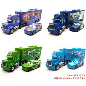 Disney Pixar Cars Jackson McQueen Mack Haulers Truck & Racers Diecast Toy