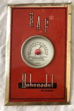 Vintage Hohenadel HAP Beer Brewing TOC Tin Over Cardboard Thermometer