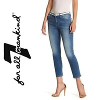 $178 ✴️ 7 FOR ALL MANKIND Roxanne 3128 Skinny Jeans Size 26