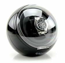 Automatic Single Watch Winder with Mabuchi Japanese Motor and Gearbox Black