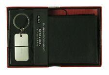 Perry Ellis Portfolio Super Soft Leather Passcase with Key Fob wallet