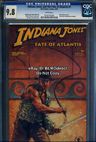 1991 CGC 9.8 Indiana Jones & The Fate Of Atlantis 1 Dave Doorman William Messner