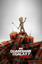 Groot  Film Movie I am Groot Dynamite  Art  Wall A0, A1, A2, A3, A4 poster