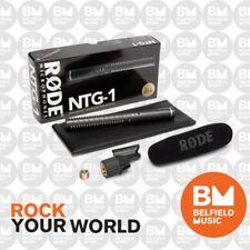 Rode NTG1 Condenser Microphone Super Cardioid Shotgun Mic WSVM Windshield NTG-1