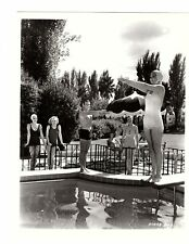 L24 Buster Crabbe at the pool publicity photograph