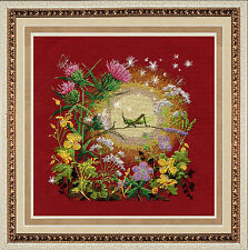 """Counted Cross Stitch Kit GOLDEN HANDS - """"Sunset"""""""