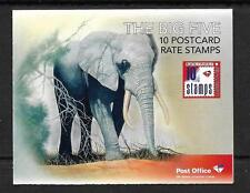 SOUTH AFRICA  2010  THE BIG 5  BOOKLET, SB 70 MNH AND COMPLETE