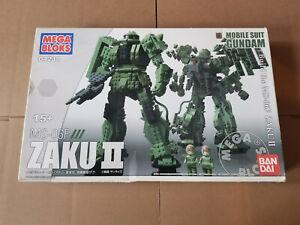 Mega Bloks Mobile Suit Gundam 04238 MS-06F Zaku II - New, Sealed