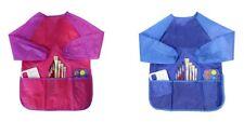 Malschürze Bastellschürze für Kinder Malkittel Wasserfest mit Klettverschluss