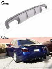CARKING 04-09 UNPAINTED PRIMED BMW E60 M5 ADD ON REAR DIFFUSER SPOILER