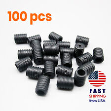[100 PCS] Adjustable Elastic Cord Buckle Stoppers Ear Loops DIY Cloth Face Mask