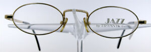 JAZZ by TIFFANY Lunettes 23 Brille Brillengestell Gold Plated Eyeglasses NEU