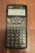 Sharp WriteView Calculator EL-W535 With Cover/ Case
