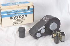 Watson bulk film loader 35mm with cassettes mint!