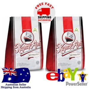 2x Kapal Api Kopi Bubuk 100% Premium Grounc Coffee Powder 380g Halal Beverages