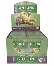 THE GINGER PEOPLE GIN GINS ORIGINAL GINGER CHEWS 12x42g - GLUTEN FREE