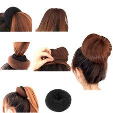 KE_ Magic Hair Donut Women Hair Ring Bun Former Shaper Hair Styler Maker Tools