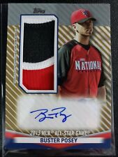 2020 Topps Update Buster Posey All-Star Autograph Jumo Patch AUTO 1/1 (1 of 1)