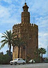 Old Postcard-Seville-Torre del Oro