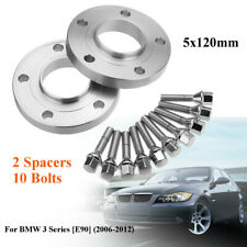 07-13 Wheel Spacers 20mm E82 Spacer Kit 5x120 72.6 +Bolts for BMW 1 Series 2