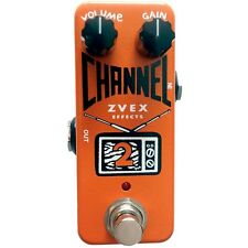 ZVEX Channel 2 Boost/Overdrive Compact Boutique Guitar Effect Pedal