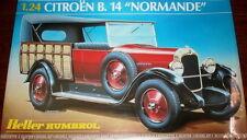 "CITROEN B.14 ""NORMANDE"" HELLER 1/24 PLASTIC KIT"