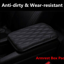 Waterproof Anti-dirty Car PU Leather Armrest Pad Cover Center Console Cushion
