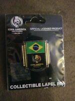 Copa America Centenario USA 2016 Wincraft Yellow Blue Red Collectible Lapel Pin