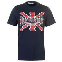 T-Shirt Homme LONSDALE (Du S au XXL) (Taille Grand) Neuf