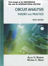 Circuit Analysis: Theory and Practice by Wilhelm C Miller(Int' Ed Paperback)5Ed