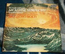 RICHARD STRAUSS AN ALPINE SYMPHONY DUTCH LP DECCA SXL 6959 GEORG SOLTI ED4
