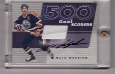 MARK MESSIER 2001-02 ITG BAP SIGNATURE 500 GOALS JERSEY & AUTOGRAPH SP/10 AUTO
