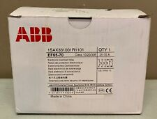 New ABB EF65 70 25-70 Amp Electronic Overload 1SAX331001R1101
