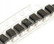 500PCS 1N4002 IN4002 M2 1A/100V SMA DO-214AC Rectifier Diode NEW
