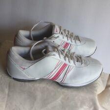 Nike Women's Golf Tennis Shoes React Vapor 418355-101 color white/pink size 7.5