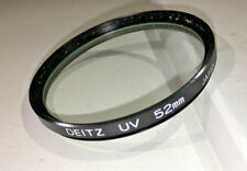 Deitz 52mm UV lens protection filter, made in Japan, good condition