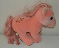My little pony plush peluche Mon Petit Poney MLP Vintage G1 1984 Hasbro Softies