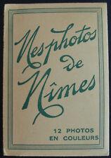 """Carnet de 12 mini-photos """"Mes Photos de NIMES"""" - Ed. Rella-Nice"""