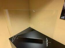 Sneeze Guard Ppe Acrylic Plexiglass Table Desk Checkout counter Shield 24H x 32W